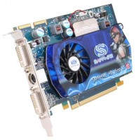 Sapphire Radeon HD 2600 XT 800Mhz PCI-E 512Mb 1400Mhz 128 bit 2xDVI TV HDCP YPrPb