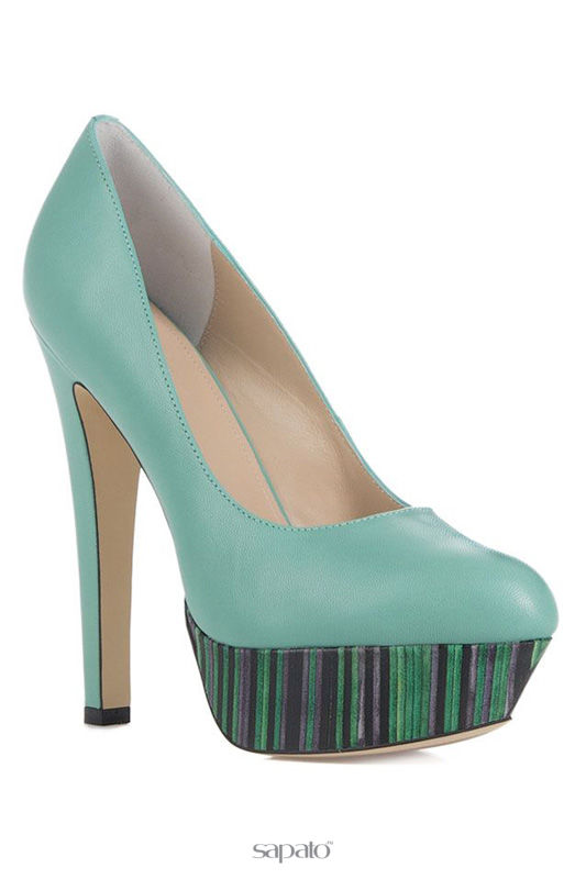 Туфли Mascotte Туфли зеленые