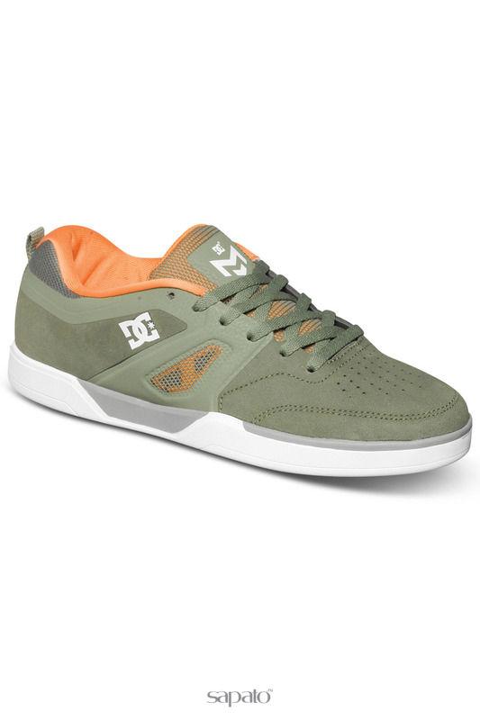 Кроссовки DC Shoes Полуботинки зеленые