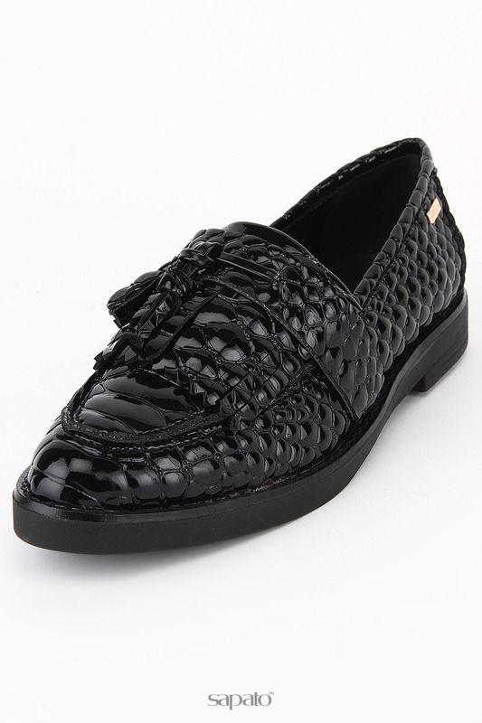 Туфли Roccobarocco Лоферы чёрные