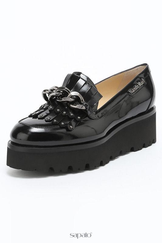 Туфли Nando Muzi Лоферы чёрные