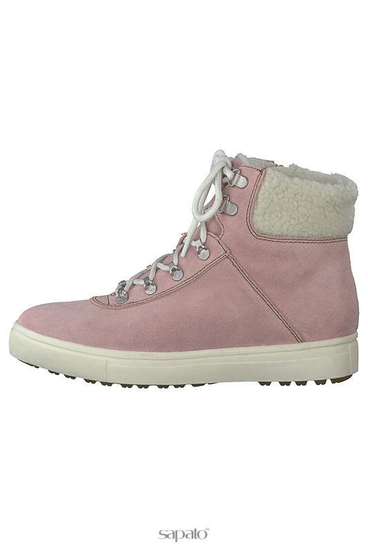 Ботинки Tamaris Ботинки розовые