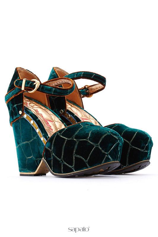 Босоножки Fabi mon amour Босоножки на каблуках синие