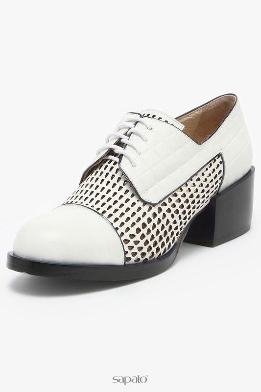 Ботинки Renaissance elite Полуботинки белые