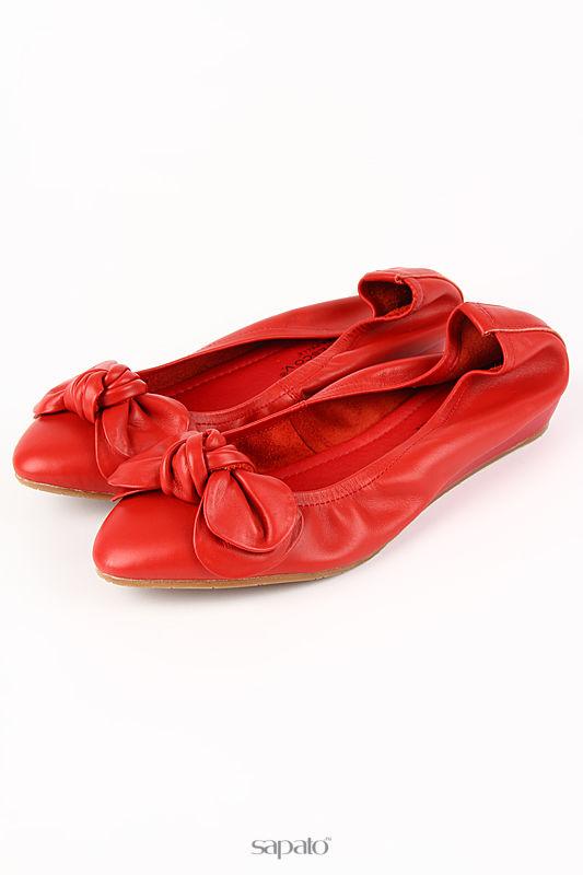 Балетки Francesco Valeri Балетки красные