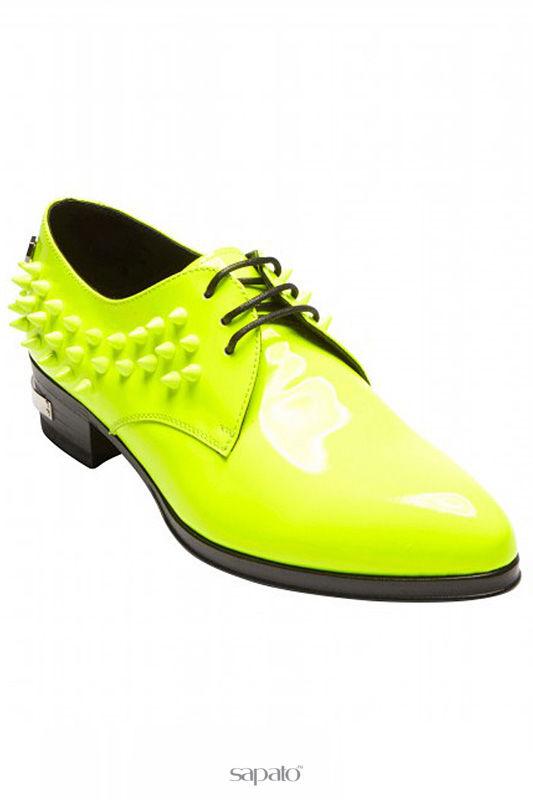 Туфли Philipp Plein Туфли жёлтые