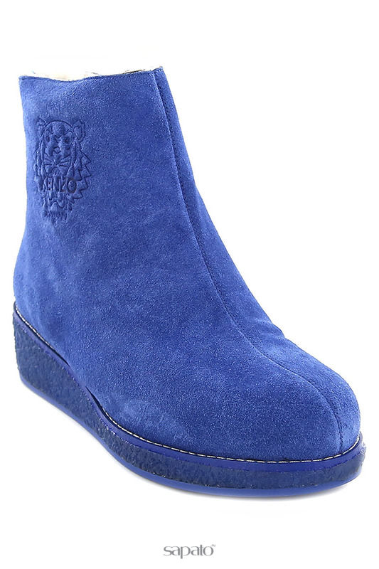 Ботинки Kenzo Ботинки синие
