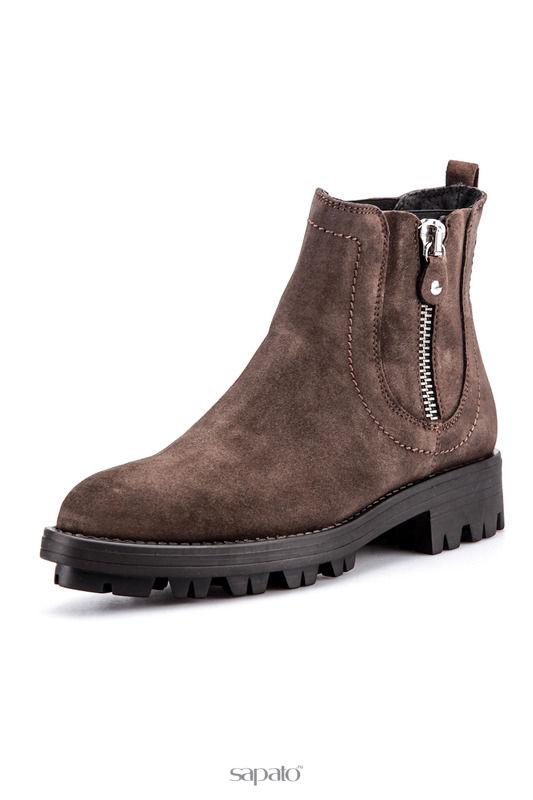 Сапоги Fabrica Morichetti Ботинки чёрные
