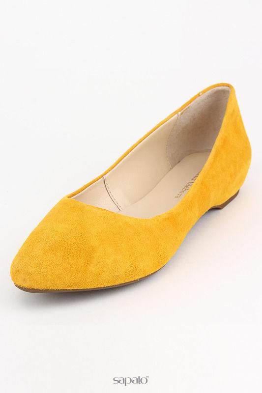 Балетки Alex Mazurin Туфли жёлтые