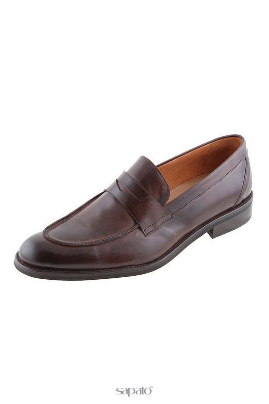 Туфли Malatesta Лоферы зеленые