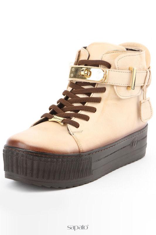 Ботинки Mamma Mia Ботинки зимние бежевые