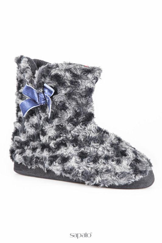 Домашняя обувь Casa di Stella Домашние угги синие