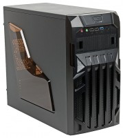 MAXcase PN523 w/o PSU Black/red