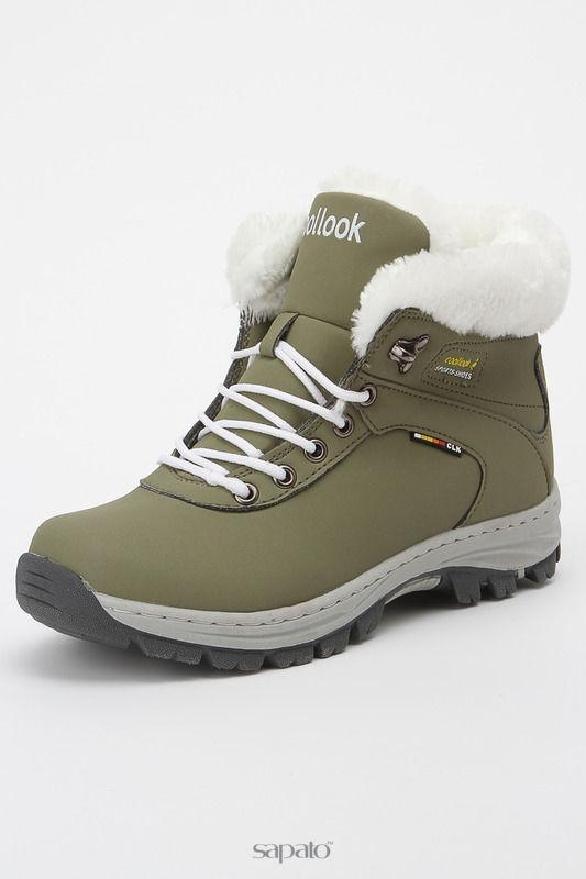 Ботинки COOLLOOK Ботинки зеленые