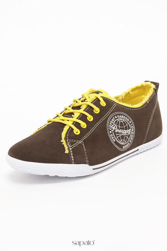 "Ботинки Palazzo D""oro Полуботинки коричневые"