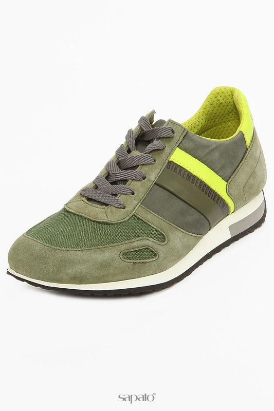 Туфли Bikkembergs Туфли зеленые