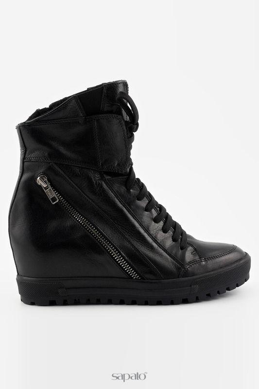Сапоги J.FRY Ботинки чёрные
