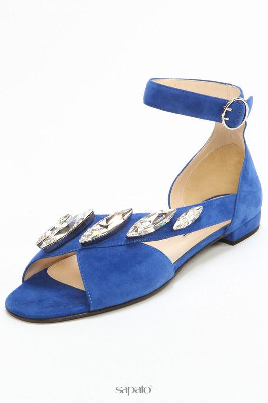 Сандалии Prada Сандалии синие