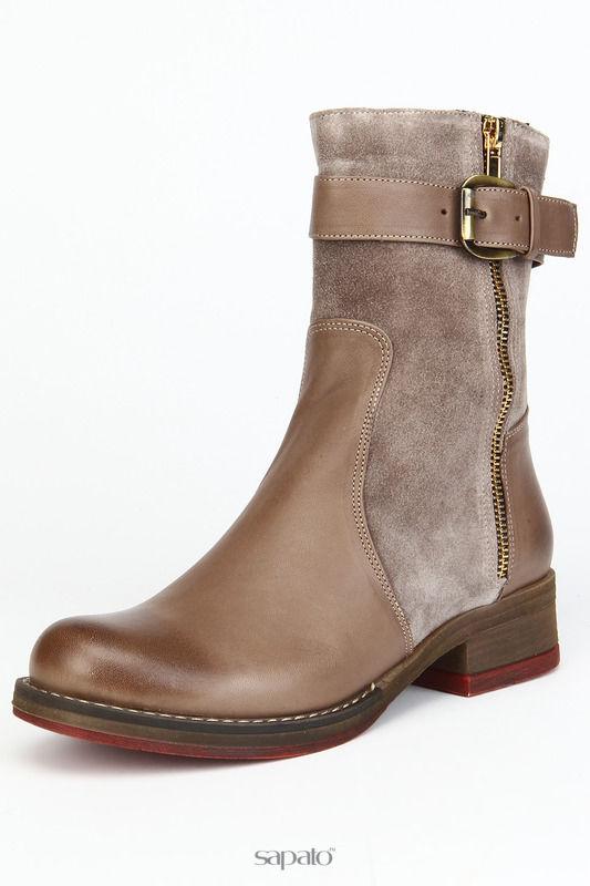 Ботинки OSSO Ботинки утепленные, байка серые