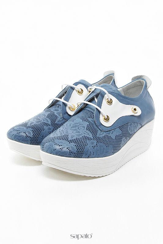 Ботинки SpringWay Туфли голубые