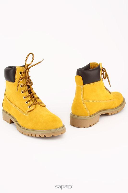 Ботинки MIA DONNA Ботинки жёлтые