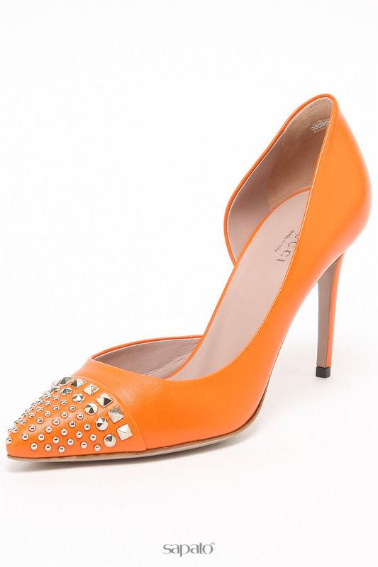 Туфли Gucci Туфли оранжевые