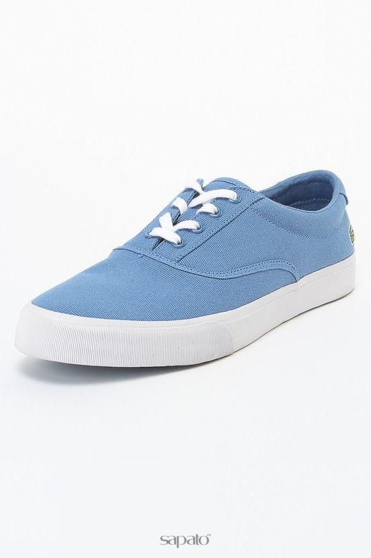 Кеды Lacoste Кеды голубые