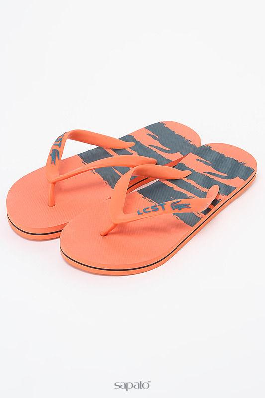 Шлепанцы Lacoste Шлепанцы оранжевые