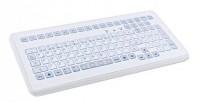 InduKey TKS-104c-KGEH-PS/2 White PS/2