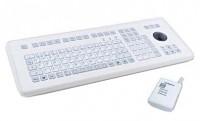InduKey TKS-105c-TB38-RF-KGEH-PS/2 White PS/2