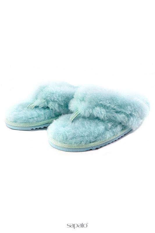"""Домашняя обувь Shepherd""""s Life Тапочки голубые"""