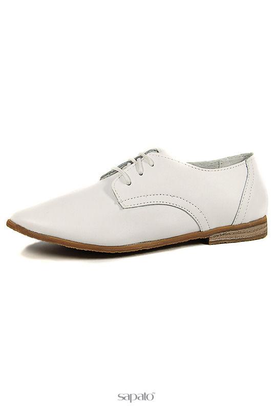 Ботинки Marko Полуботинки белые