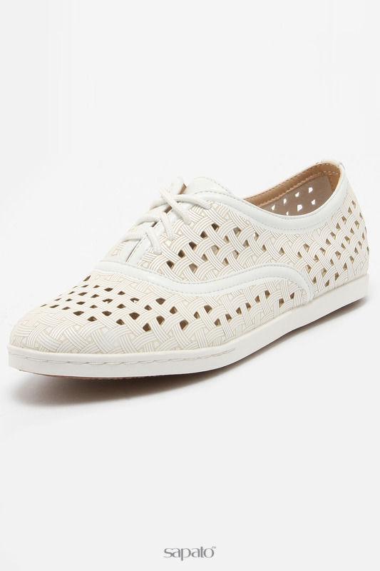 Ботинки Daze Полуботинки белые