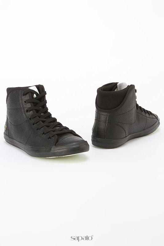 Кеды Lacoste Обувь чёрные