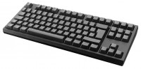 WASD Keyboards V2 88-Key ISO Barebones Mechanical Keyboard Cherry MX Clear Black USB