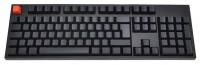WASD Keyboards V2 105-Key ISO Barebones Mechanical Keyboard Cherry MX Blue Black USB