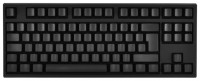 WASD Keyboards V2 88-Key ISO Custom Mechanical Keyboard Cherry MX Clear Black USB