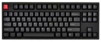 WASD Keyboards V2 87-Key Doubleshot PBT Black/Slate Mechanical Keyboard Cherry MX Green Black USB