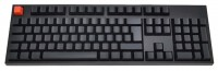 WASD Keyboards V2 105-Key ISO Barebones Mechanical Keyboard Cherry MX Clear Black USB