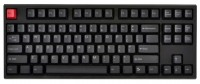 WASD Keyboards V2 87-Key Doubleshot PBT Black/Slate Mechanical Keyboard Cherry MX Clear Black USB