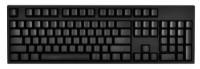 WASD Keyboards V2 104-Key Custom Mechanical Keyboard Cherry MX Red Black USB