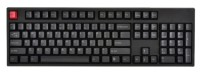 WASD Keyboards V2 104-Key Doubleshot PBT Black/Slate Mechanical Keyboard Cherry MX Blue Black USB