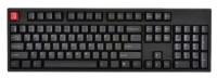 WASD Keyboards V2 104-Key Doubleshot PBT Black/Slate Mechanical Keyboard Cherry MX Red Black USB