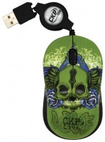 Cirkuit Planet CPL-MM1230 Green-Black USB