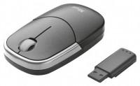 Trust Slimline Wireless Mini Mouse Silver-Black USB