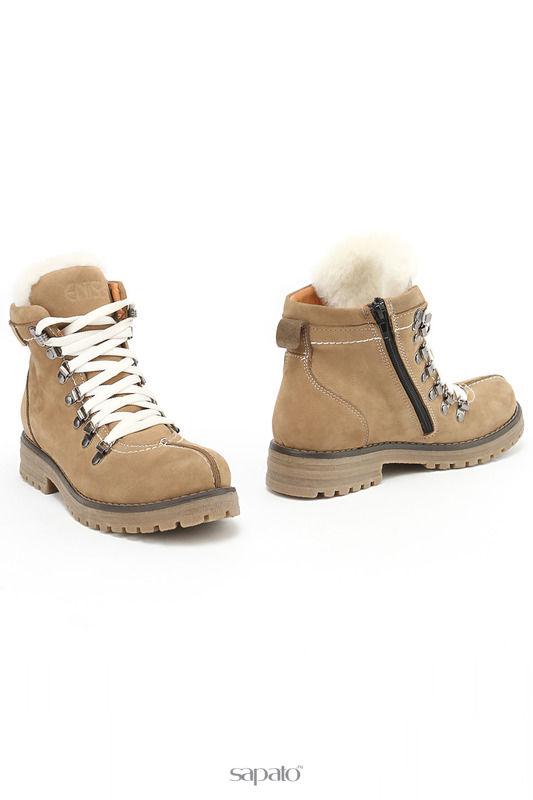 Ботинки ENISSE Ботинки бежевые