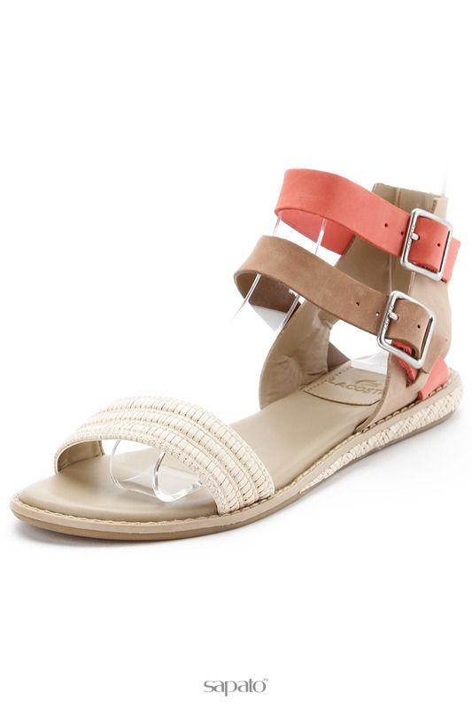 Сандалии Lacoste Обувь бежевые