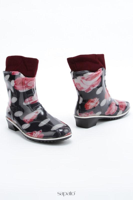 Ботинки ДЮНА Ботинки красные
