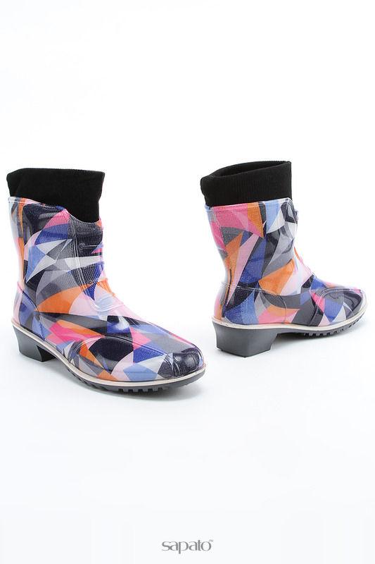 Ботинки ДЮНА Ботинки розовые