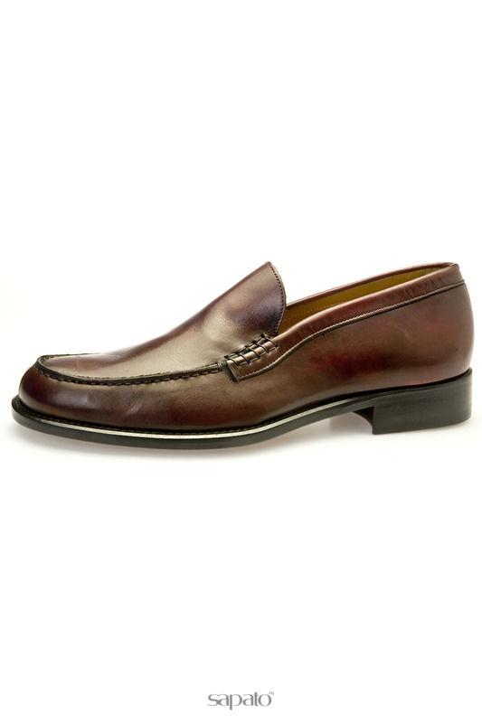 Туфли BELSIRE MILANO Лоферы фиолетовые